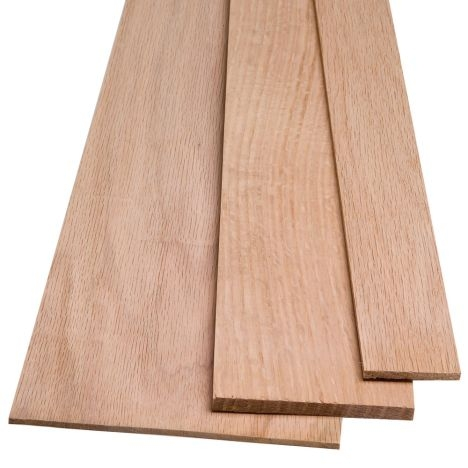 Red Oak By The Piece 1 4 Thickness Rockler Woodworking And Hardware | 48 Inch Red Oak Stair Treads | Stair Parts | Prefinished | Wood | Lowes | Stair Nosing