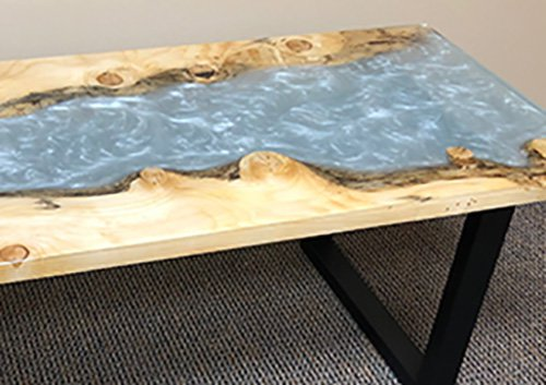 project live edge river table