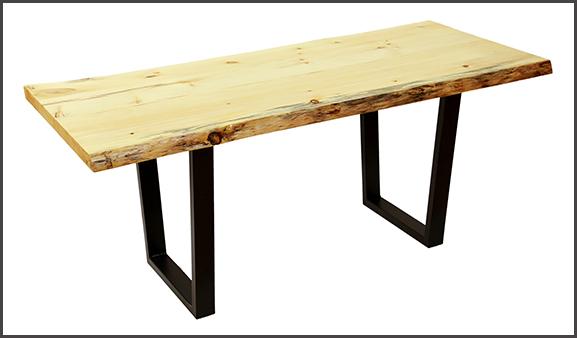 build a live edge slab table