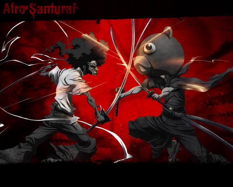 Afro Samurai Vs Teddy Bear??