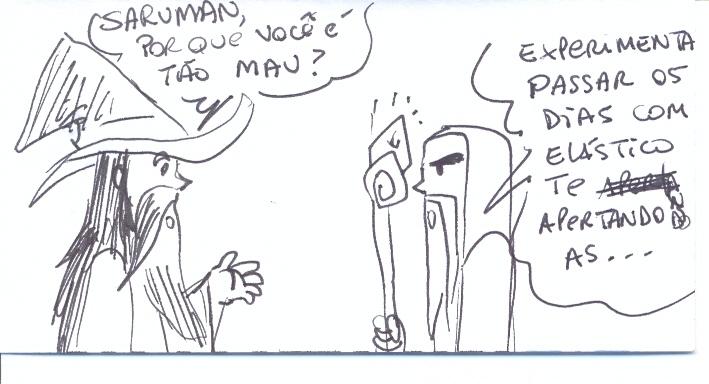 A Origem da Maldade do Saruman!