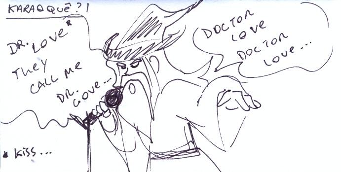 Gandalf canta Doctor Love, do Kiss!