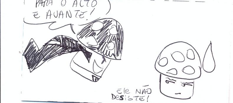 Super Cogumelo! A vergonha do cosplay continua!