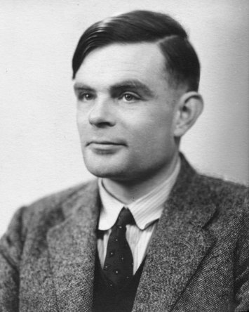 Foto de Alan Turing.