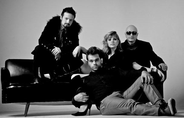 Foto dos integrantes da banda Paranoika