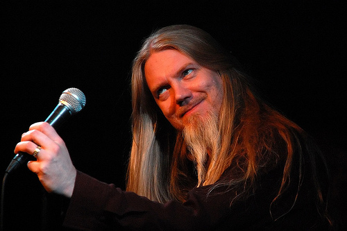 A voz do Tarot e do Nightwish: Mr. Marco Hietala!!!