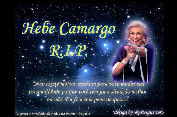 Homenagem do Rock Me ON para Hebe Camargo.