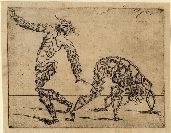 Giovanni Battista Bracelli, Bizzarie, desenhos de 1624.