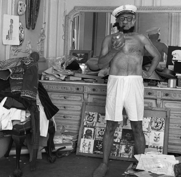 Picasso como Popeye.