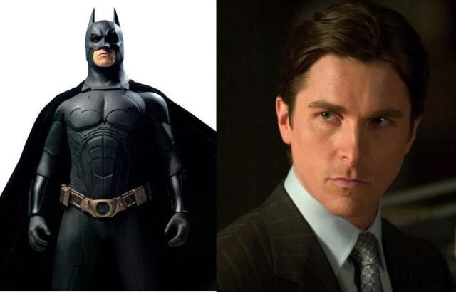 Batman: Christian Bale.