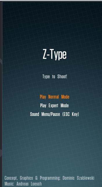 Z-Type, Um Game Viciante!!!