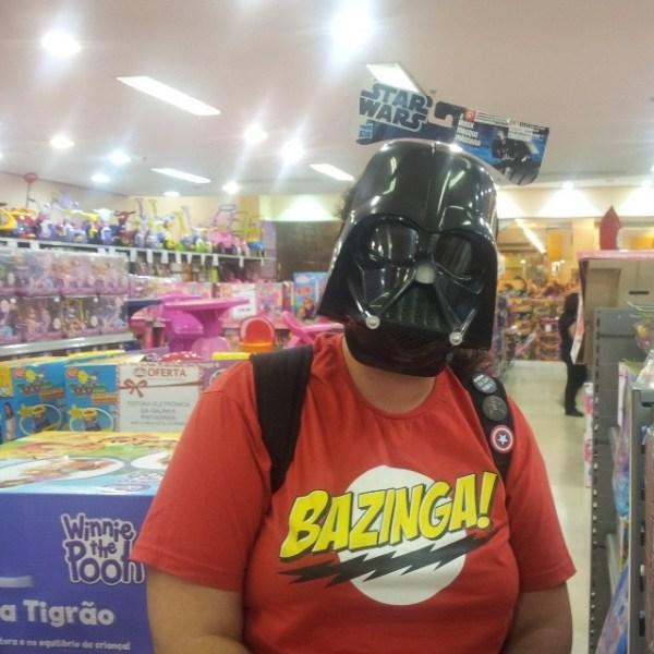Darth Vader... Oh, Wait!!!