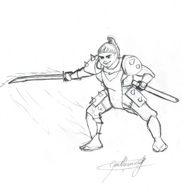 Olha o samurai!!