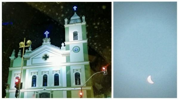 Igreja da Penha e Lua