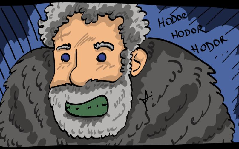 O bom gigante Hodor!