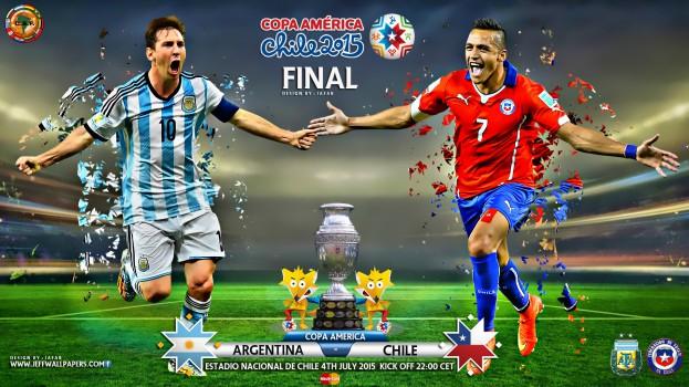 ARGENTINA - CHILE COPA AMERICA FINAL 2015-623x350