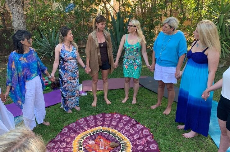 Helen in Wonderlust Yoga Teacher