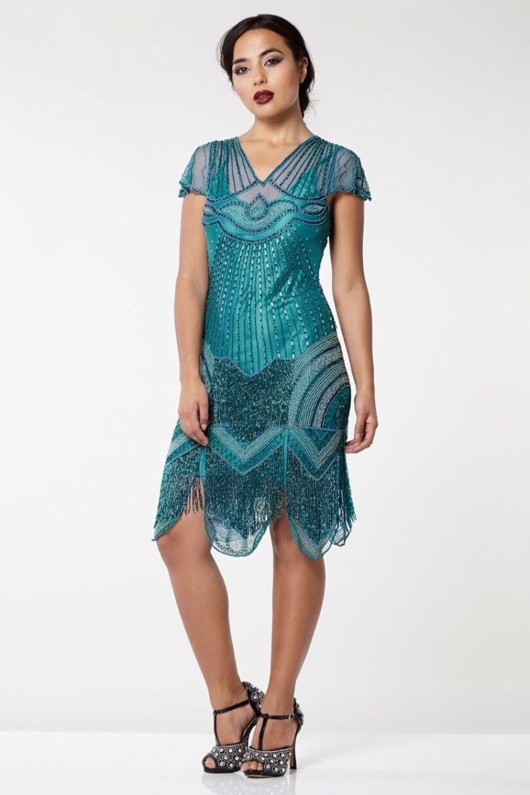 1920s Dresses UK | Flapper Dresses, Gatsby Dress