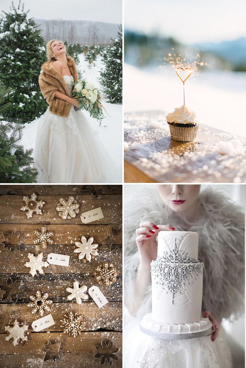 A Guide To Styling A Winter Wedding With Silver Metallic