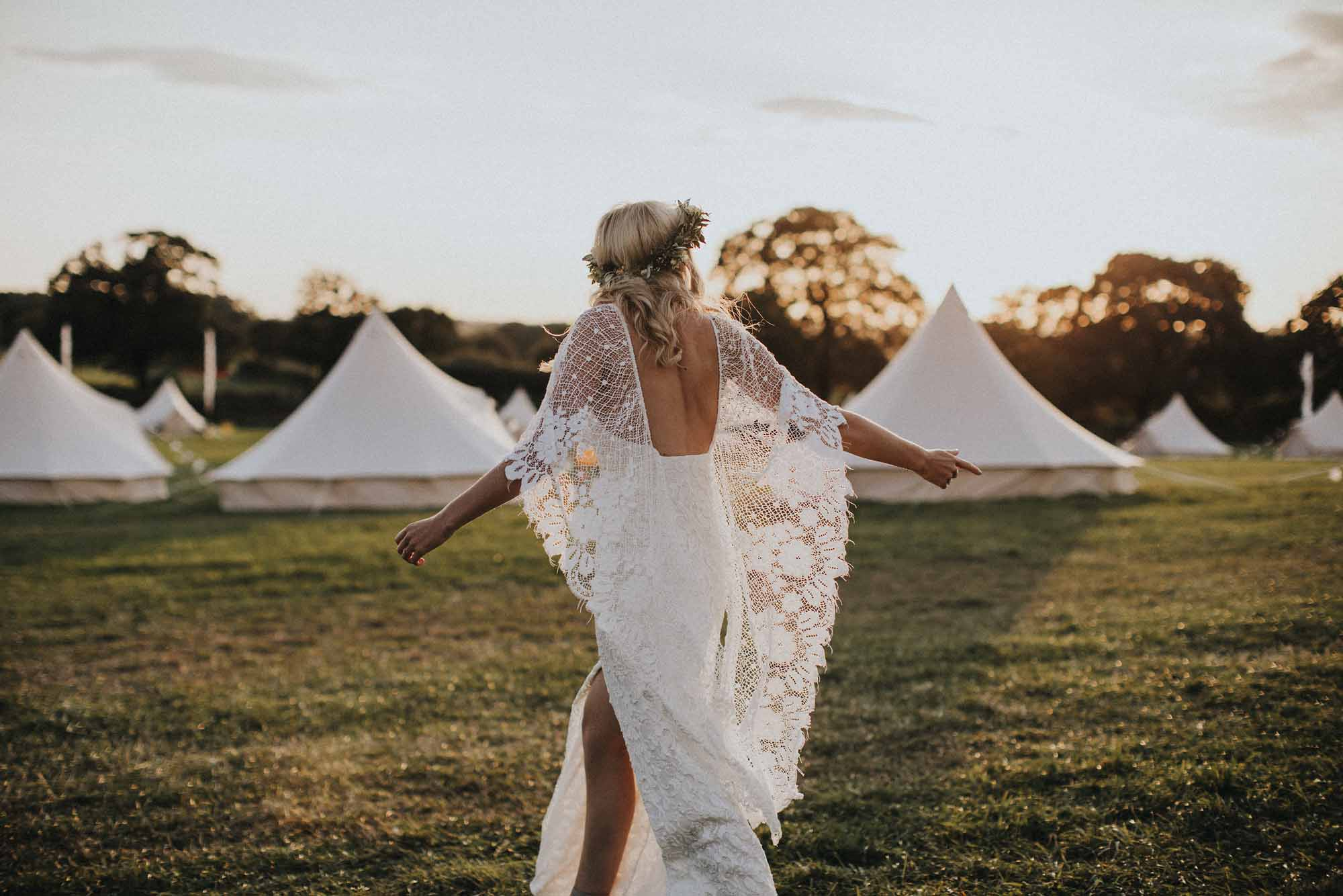 Boho Wedding Dresses For Free-Spirited Bohemian Brides