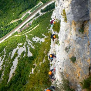 nos valeurs sportives et environnementales canyoning escalade via ferrata jura bugey pays de gex lausanne geneve nyon saint claude