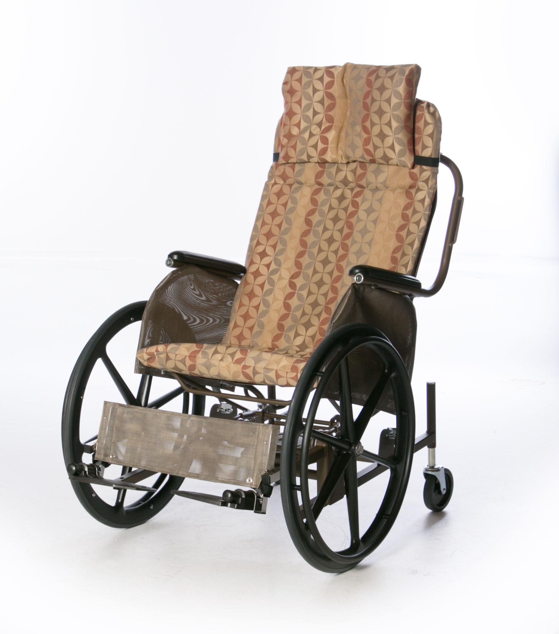 Mesh Rocking Wheelchair