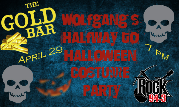 Wolfgang's Halfway To Halloween Costume Party