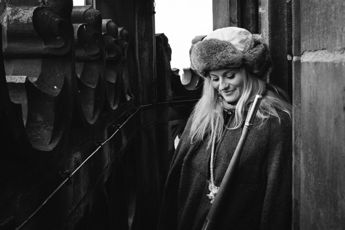Martje Saljé - Türmerin von Münster und Musikerin - Rock'n'Klick - Andreas Völker Fotograf Münster - Portraitfotograf Businessfotograf Familienfotograf Hochzeitsfotograf - Portraitfotos Businessfotos Familienfotos Hochzeitsfotos