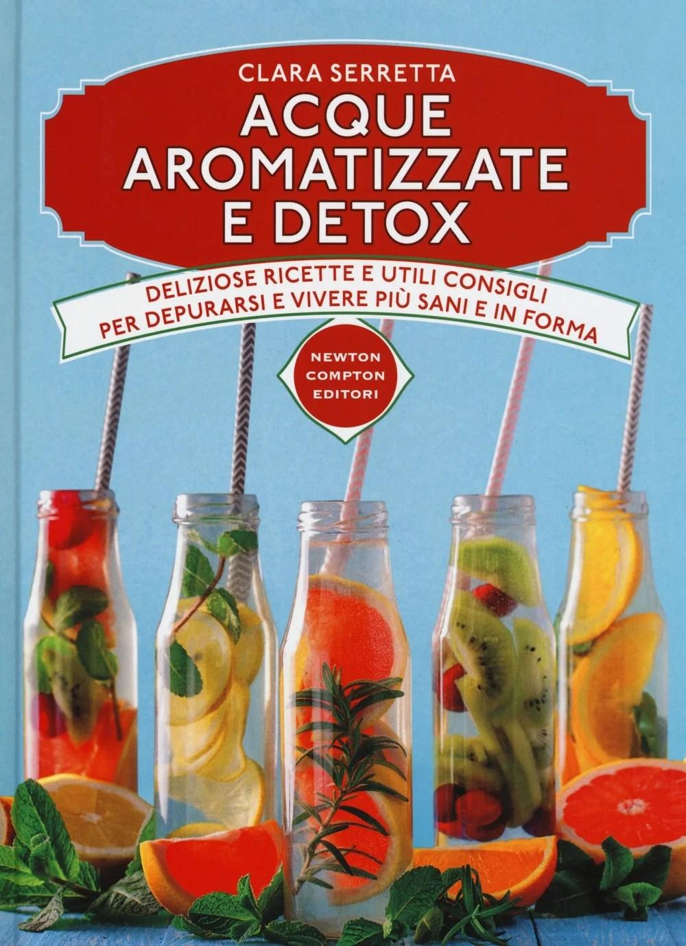 Recensione di Acque Aromatizzate E Detox – Clara Serretta