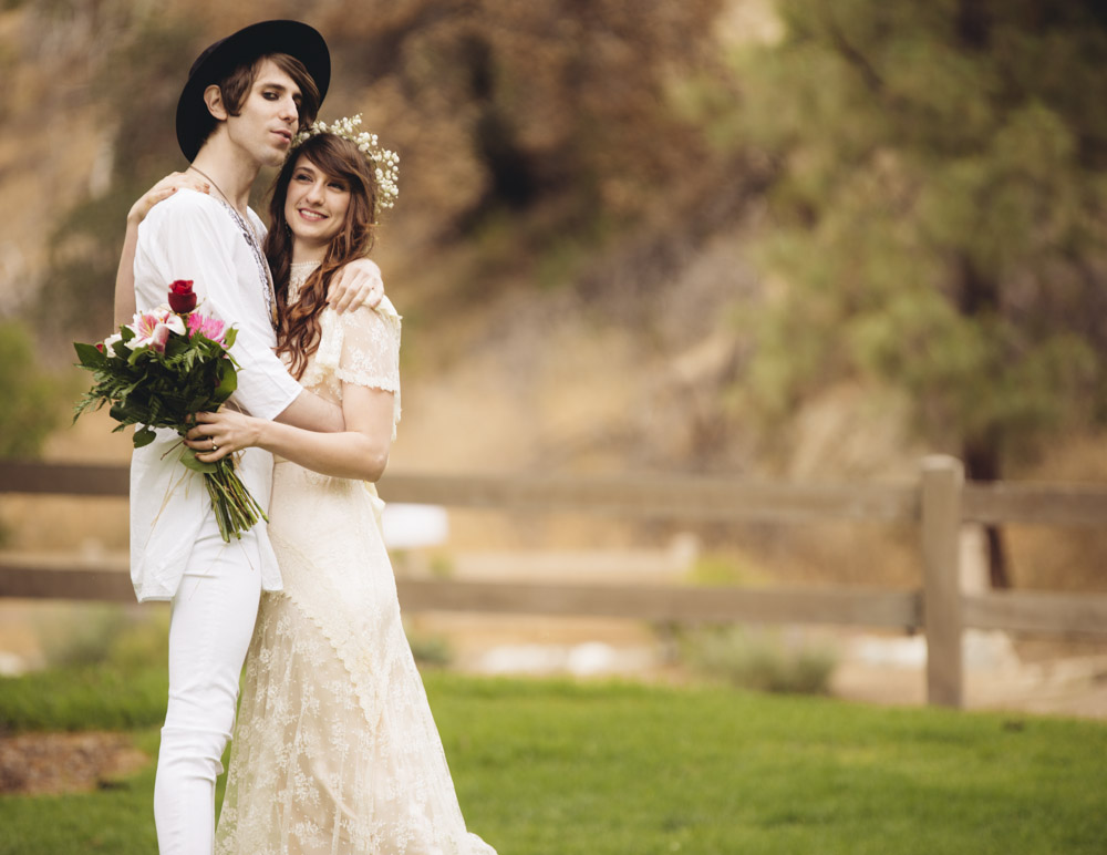 Guerilla Wedding At Griffith Park Observatory Rock N