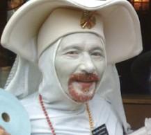 Sister Olive Overhand,  Founder Mistress of Alms
