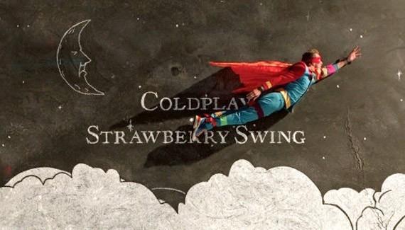 "Coldplay presenta ""Strawberry Swing"""