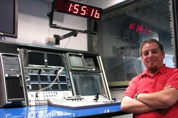 Mario Sánchez, realizador de CajaNegra TV