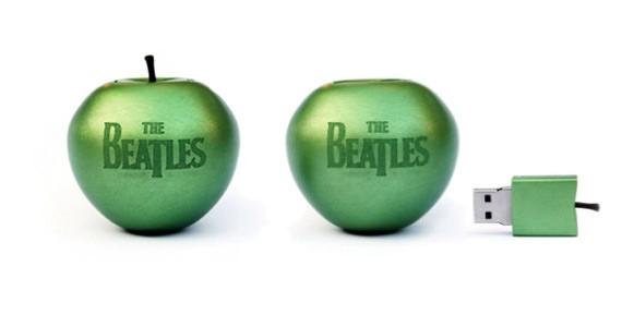 Toda la música de The Beatles en un USB