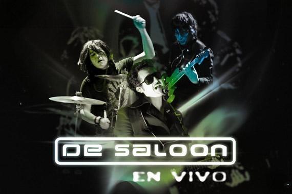 DVD - De Saloon en vivo
