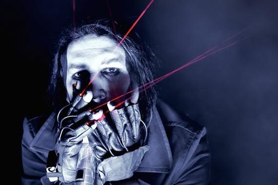 Marilyn Manson  en vivo | Foto: Manuel Lino