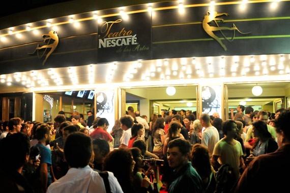 Inauguración del In-Edit en el Teatro Nescafé de las Artes