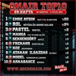 OnAir Top10 Sonuçları - 29.Hafta