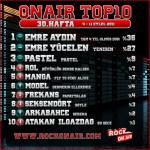 OnAir Top10 Sonuçları - 30.Hafta