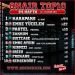 OnAir Top10 Sonuçları - 34.Hafta