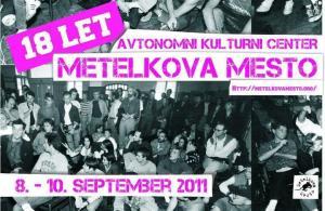 Vabimo na 18. obletnico AKC Metelkova mesto