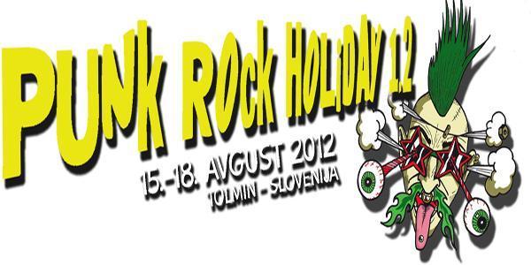 V sodelovanju z organizatorjem vam v nagradni igri poklanjamo 2 x 1 vstopnico za festival Punk Rock Holiday 1.2, ki bo med 15. in 18.7.2012 v Tolminu.
