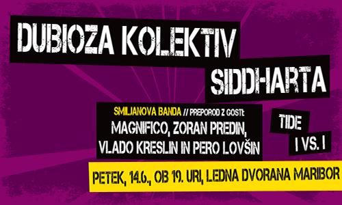V sodelovanju z organizatorjem vam v nagradni igri poklanjamo 2 x 1 vstopnico za dogodek Piše se leto, ki bo 14. 6. 2013 v Ledni dvorani v Mariboru.