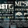 Ravnokar je nemški prog/djent festival Euroblast javil, da bodo glavni nosilci festivala veliki švedski tehničarji Meshuggah.