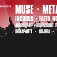 Poleg Muse, Faith No More, Metallice, Incubus ... na festival prihajajo tudi Airbourne, Triggerfinger, Within Temptation, Gojira, Bonaparte in Saint Vitus.