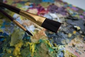 rock painting brushes
