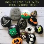 easy halloween rocks2 pin - Try these Fun Halloween Rock Painting ideas for Kids