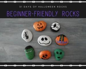 halloween kids rocks