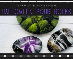 paintpour rocks