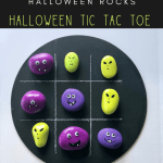 tic tac toe rocks pin 2 - Make your own Halloween Painted Rocks Tic Tac Toe Game